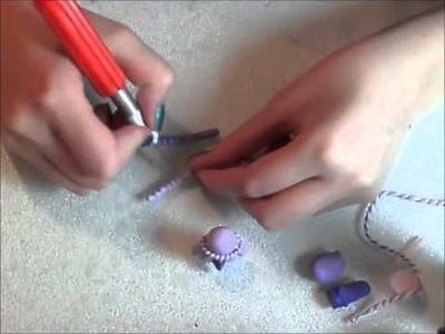 Goat polymer charm tutorial