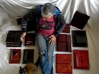 Handmade Leather Books, Journals and Photo Albums