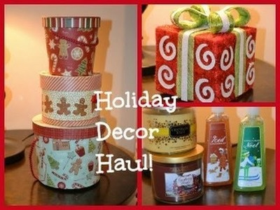 Holiday Home Decor Haul!