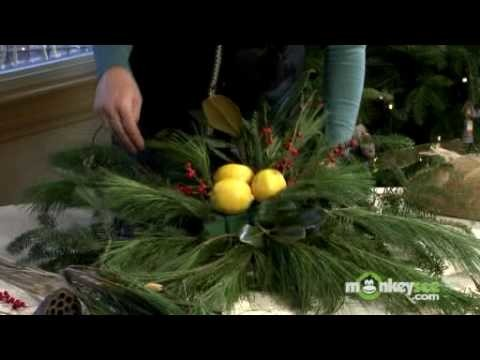 Home Decor - Making a Holiday Window Decoration - 2