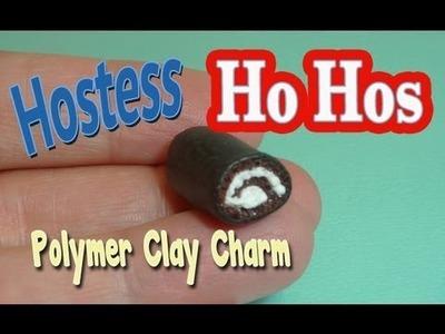 Hostess Ho Ho Polymer Clay Charm