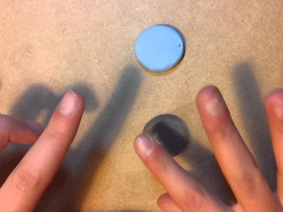 How To Avoid Or Remove Fingerprints From Polymer Clay - By Nino Kalandadze