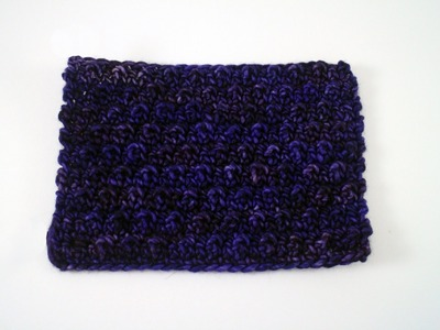 How to Crochet the Pebbled Stitch