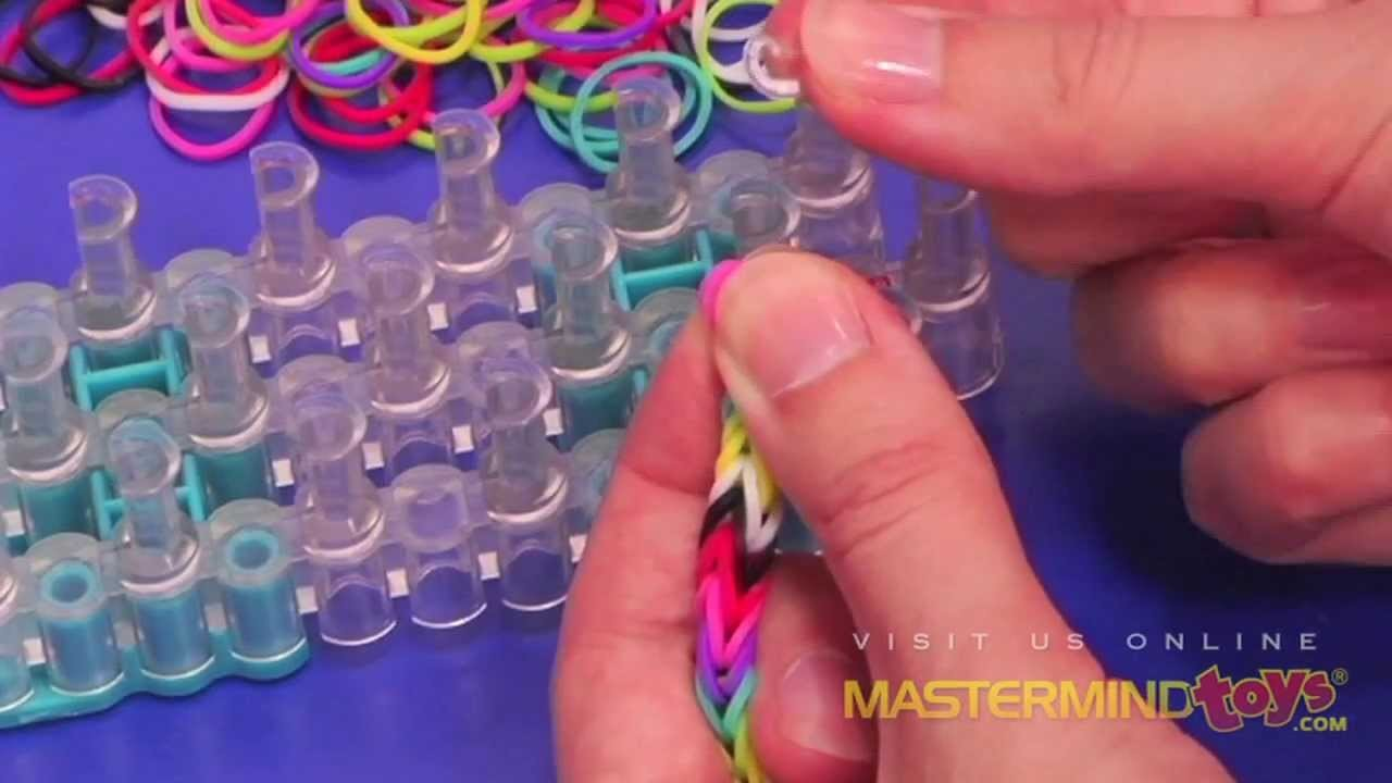 How To: Make the Rainbow Loom Fishtail Bracelet!