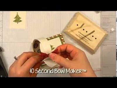 How to Use No Peeking with Sweet Essentials to Make a Christmas Card