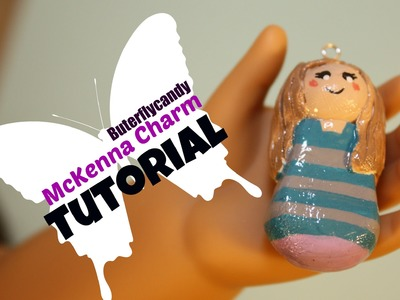 McKenna Girl of the Year 2012 Charm | American Girl Doll Themed | Polymer Clay Tutorial