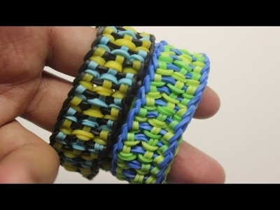 *NEW* Amerastrand Bracelet Tutorial on the RAINBOW LOOM!