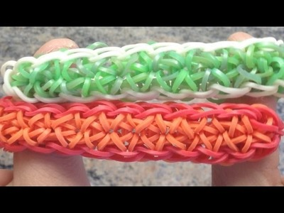 *NEW!* How to Make a Rainbow Loom Twinkled Burst Bracelet!