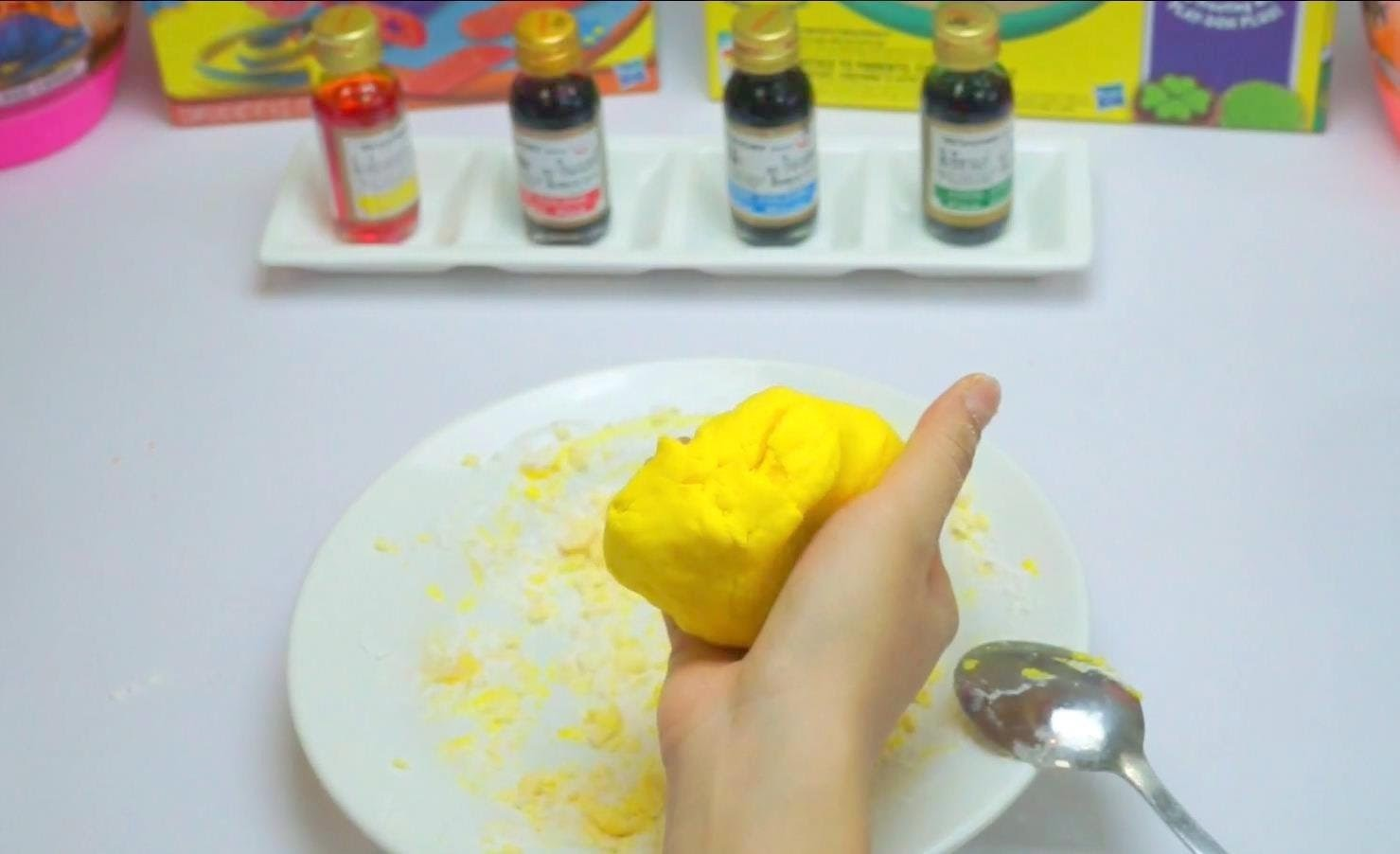 Play Doh Clay - How to make at Home DIY Very Easy Part1