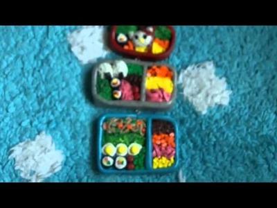 Polymer Clay Bento Boxes