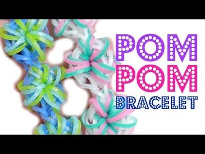 Pom Pom Bracelet Rainbow Loom Tutorial | TutorialsByA