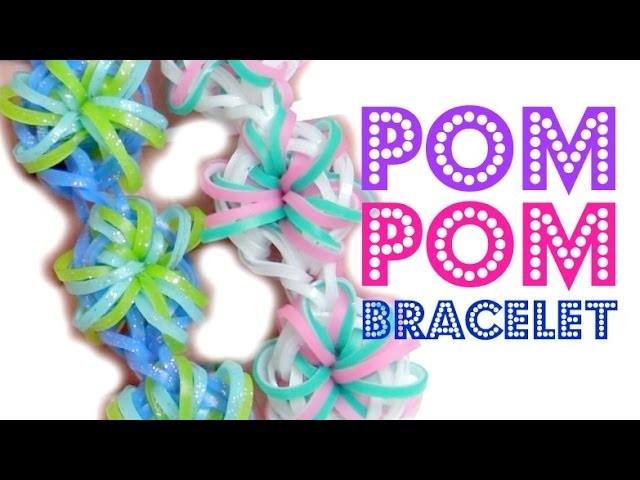 Pom Pom Bracelet Rainbow Loom Tutorial   TutorialsByA