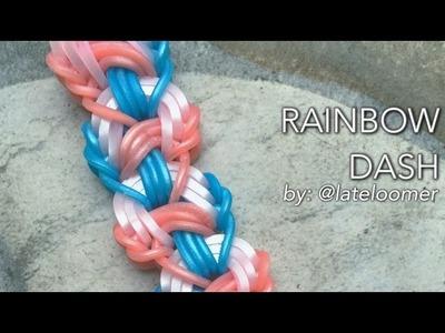 RAINBOW DASH Hook Only bracelet tutorial