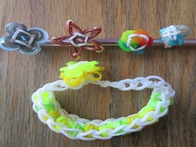 Rainbow Loom- 4 Cute Mini Charms (Original Designs)
