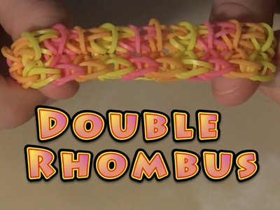 Rainbow Loom - Double Rhombus | the best tutorial