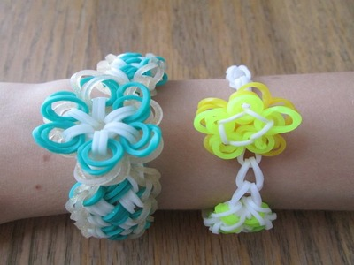 Rainbow Loom- Finishing a Bracelet with a Charm (Original Concept, no c Clip Required!)