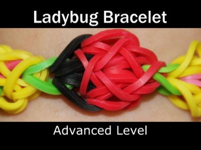 Rainbow Loom® Ladybug Bracelet