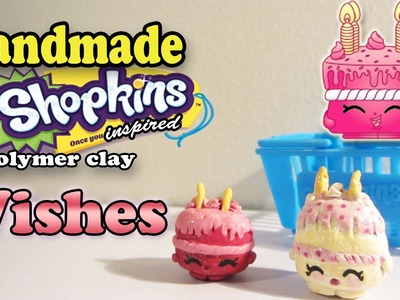 Season 1 Shopkins: How To Make Wishes Polymer Clay Tutorial!