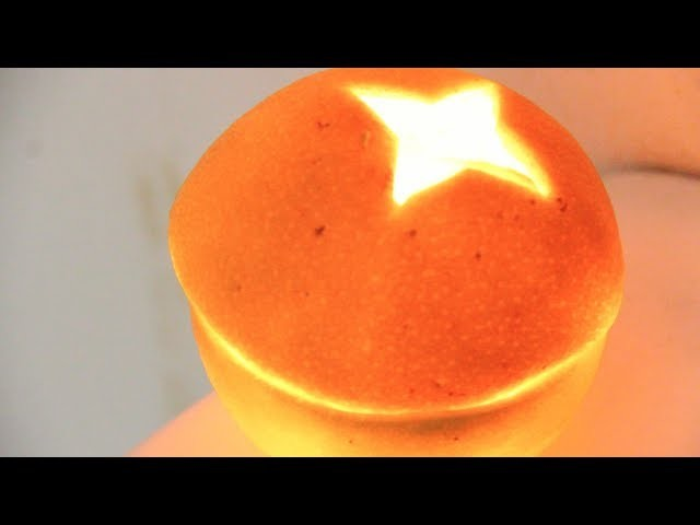 Turn an Orange into a Candle! Amazing Party Trick!