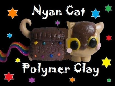 TUTORIAL: nyan cat sweets polymer clay