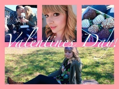 Valentines Day Collab w. CaityLovesColors Makeup, Outfit, + Gift idea!