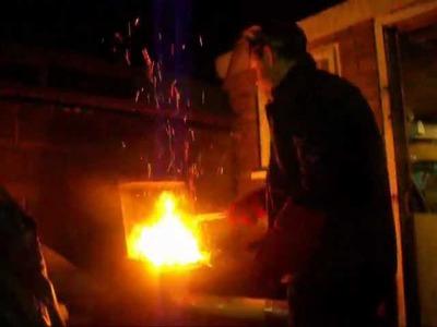 British Knife Maker Heat Treatment,,Bush Craft and Survival Blades