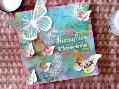 Butterfly Mixed Media Project