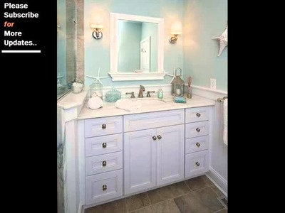 Collection Of Beach Decor Bathroom | Beach House Decorating Ideas And Samples