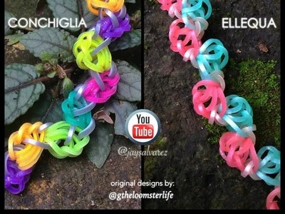 CONCHIGLIA & ELLEQUA Hook Only bracelet tutorial