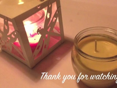 DIY| How to make a Holiday Candle