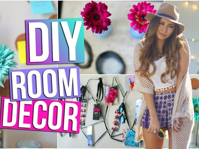 DIY Room Decor & Organization (Tumblr Inspired)! | Tara Michelle
