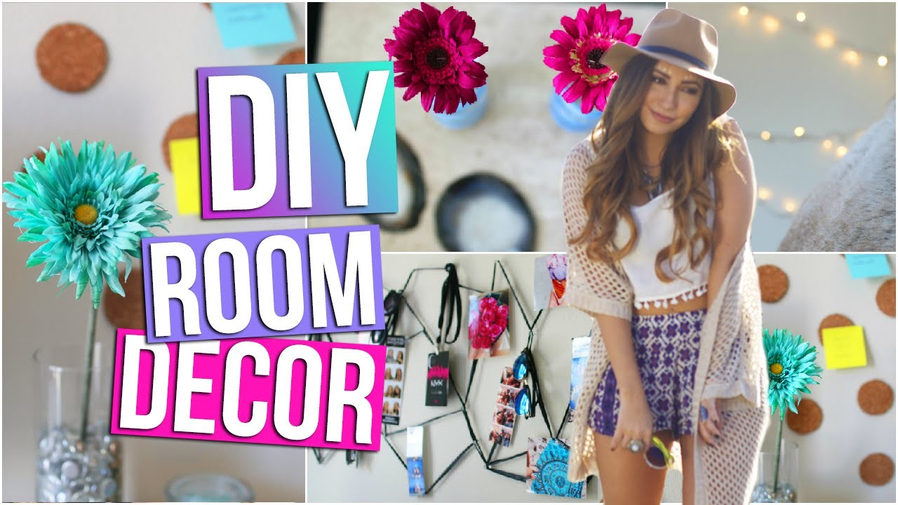 DIY Room Decor & Organization (Tumblr Inspired)! | Tara Michelle