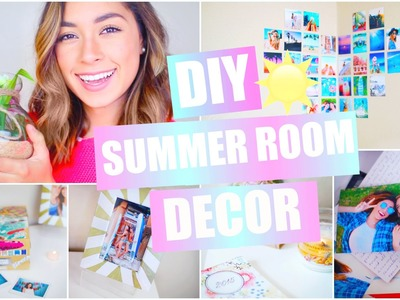 DIY Summer Room Decor - Pinterest & Tumblr Inspired