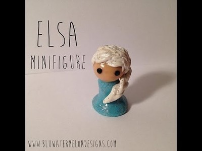 Elsa from Frozen Polymer Clay Tutorial