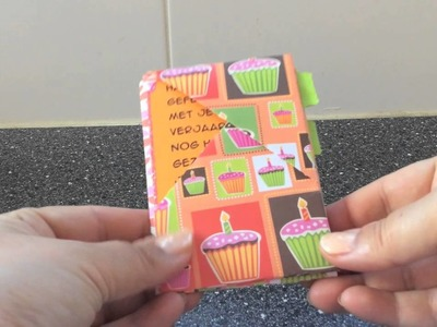 Hippo Birdy wallet tutorial - with only one sheet of scrapbook paper!