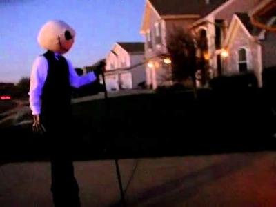 Homemade Jack Skellington Halloween Costume -- Part I