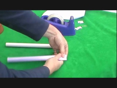 How to Make a Paper Air Rocket