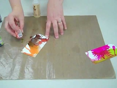 How-to: Make a Tag Using Alcohol Ink