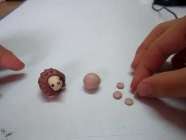 How To : Polymer Clay Hedgehog HD