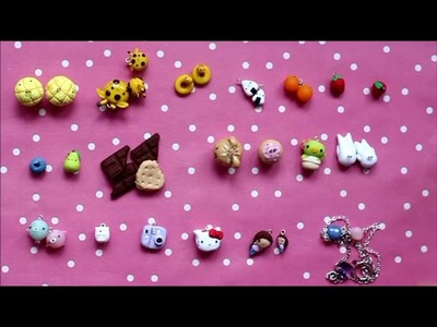 Polymer Clay Charm Update #2 ~ Charms inspired by Frainyxo, Maqaroon, LittleSurprisesYT and More!