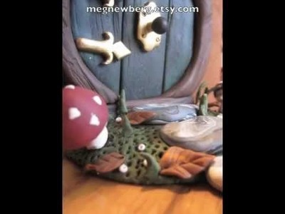 Polymer clay fairy and hobbit doors.m4v