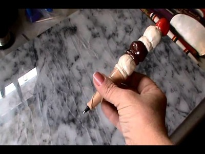 Polymer Clay Ice Cream Cone Pen & other cool creations
