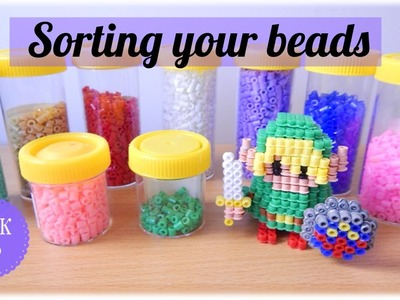 Sorting colours: Perler Bead Quick Tip