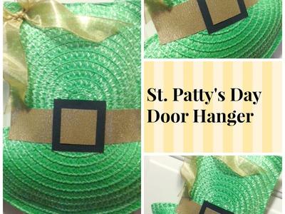 St Patty's Day Door Hanger