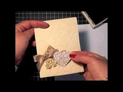 Stampin' Up! Card Idea Tutorial- Elegant Element Heart Surprise