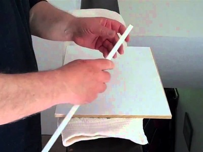 Stretching watercolour paper - Part 1 Using the board and pl
