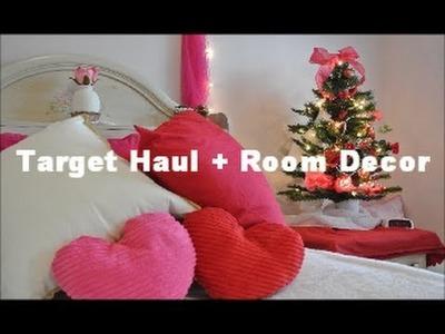 Target Haul + Valentine's Room Decor