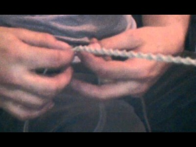 This is how I add more hemp cord to the necklaces