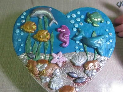 Under the Sea in Polymer clay