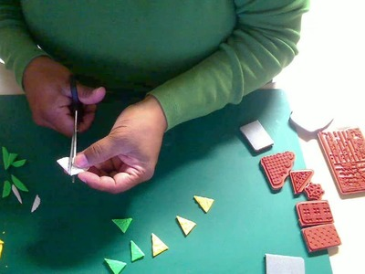 Using Ippity Stamps with Polymer Clay to make embellishments